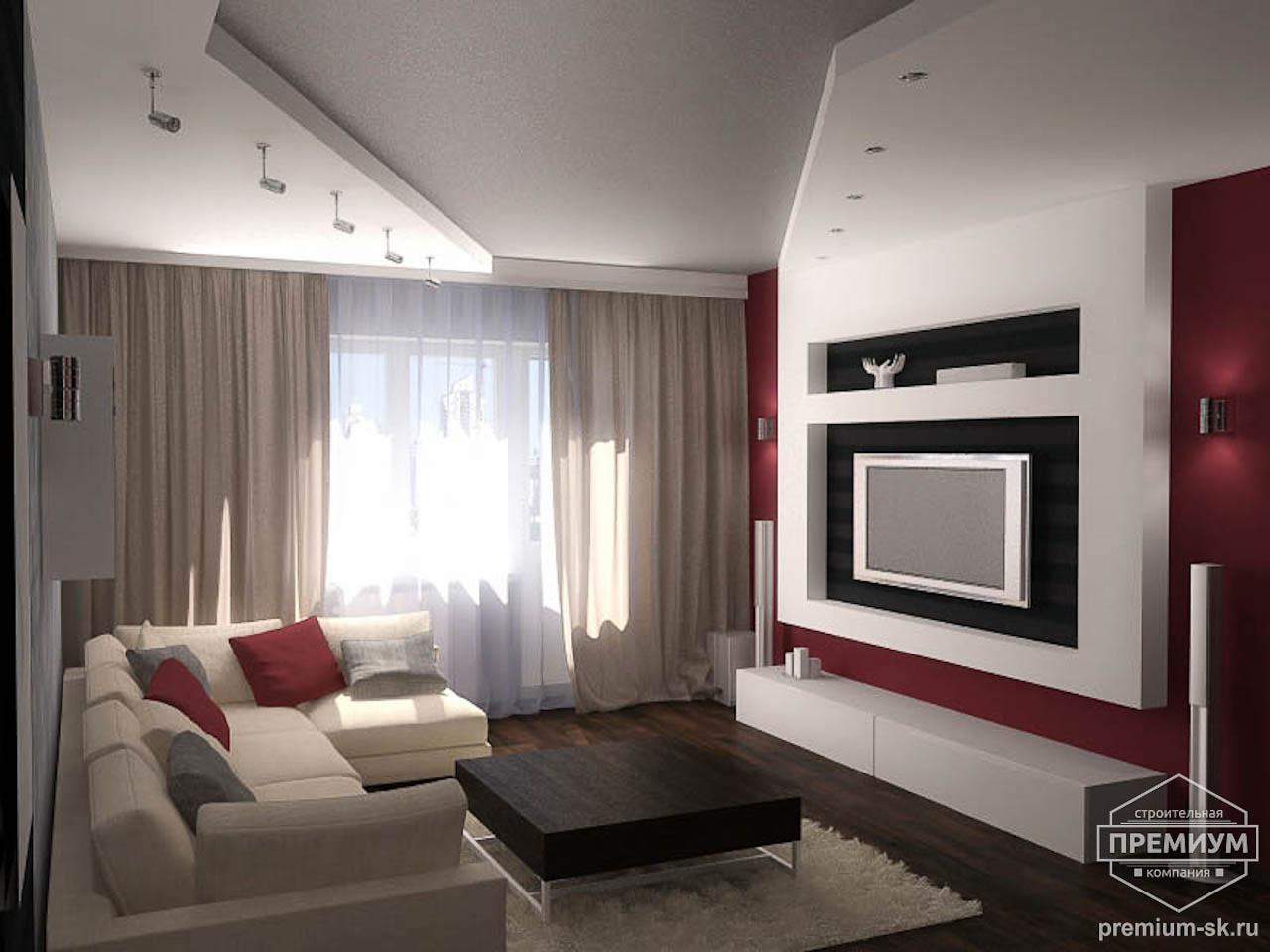 Дизайн интерьера однокомнатной квартиры по ул. Сыромолотова 11 img1006278758