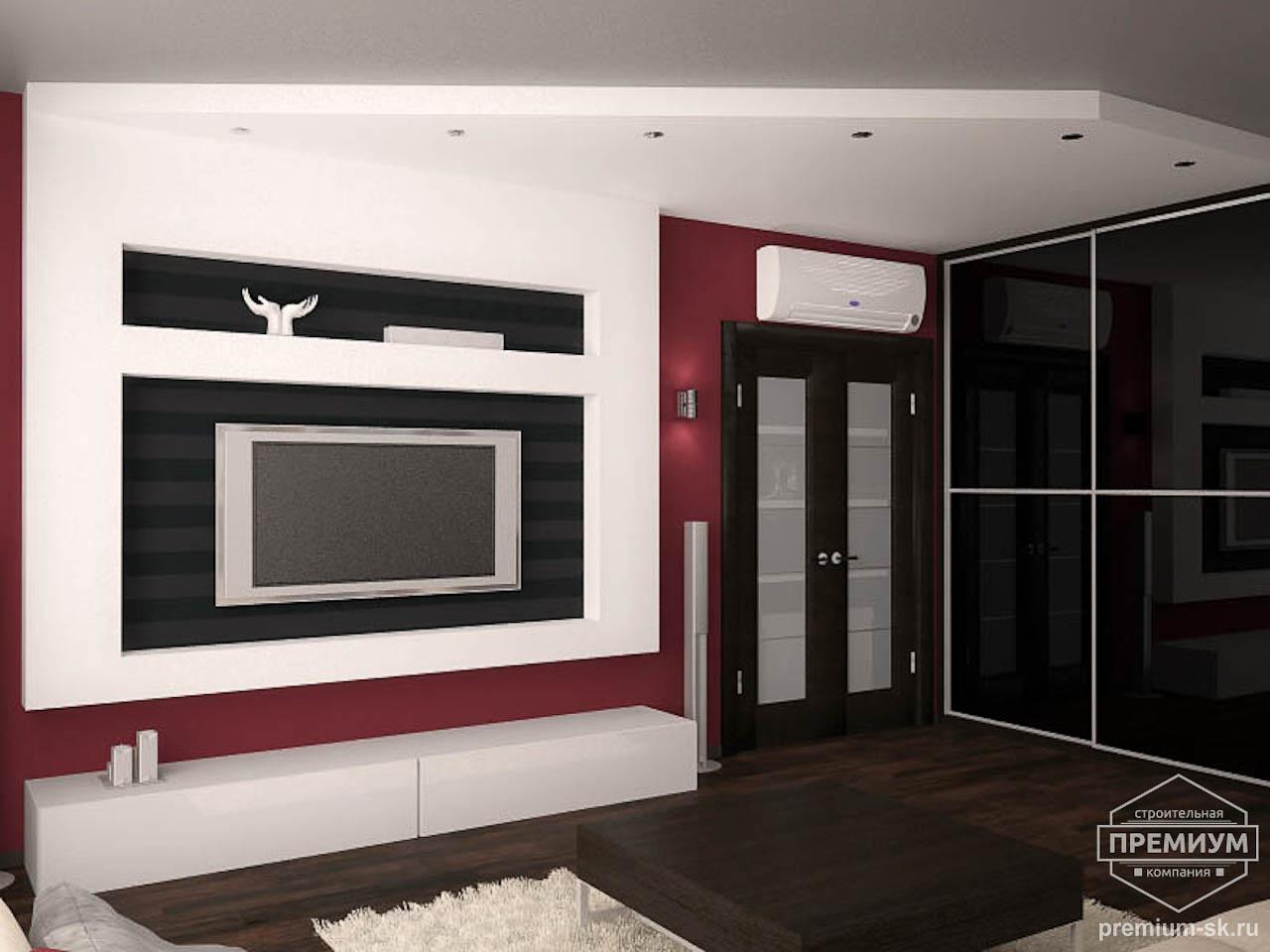 Дизайн интерьера однокомнатной квартиры по ул. Сыромолотова 11 img1849476093