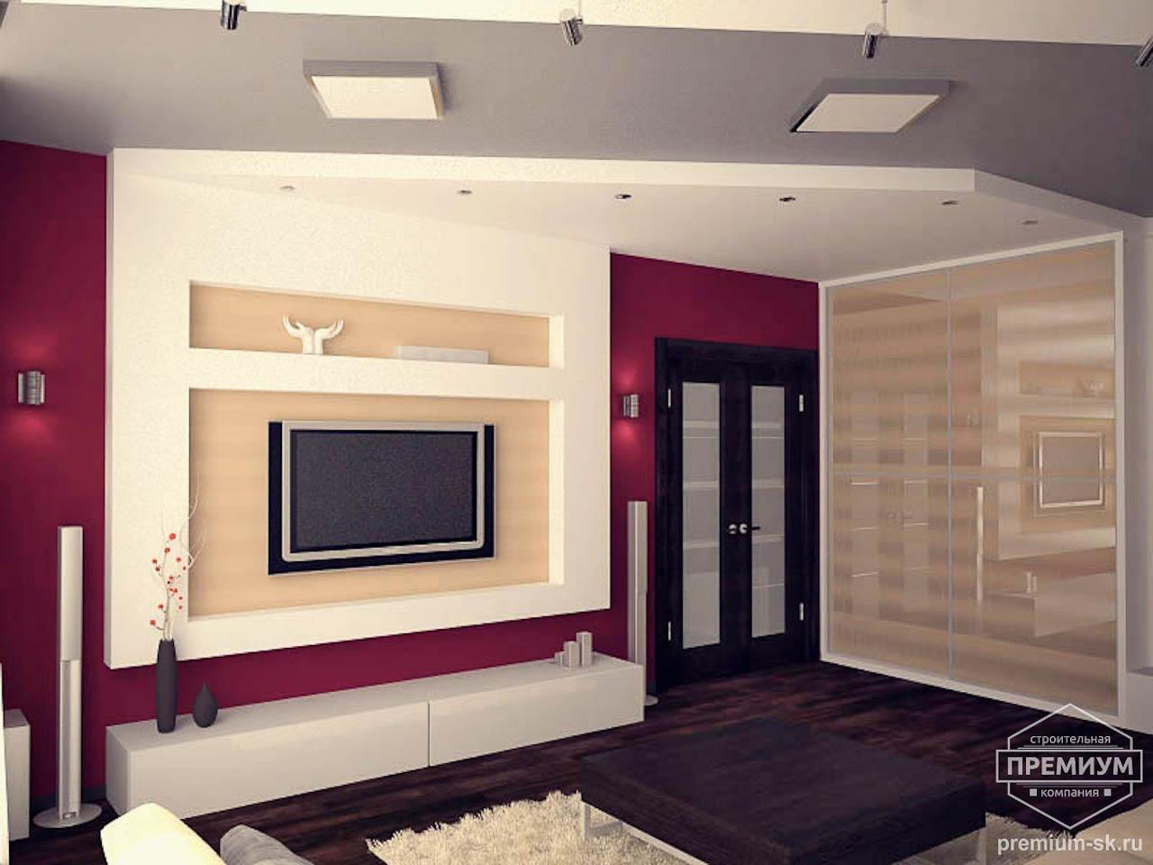 Дизайн интерьера однокомнатной квартиры по ул. Сыромолотова 11 img1009537976