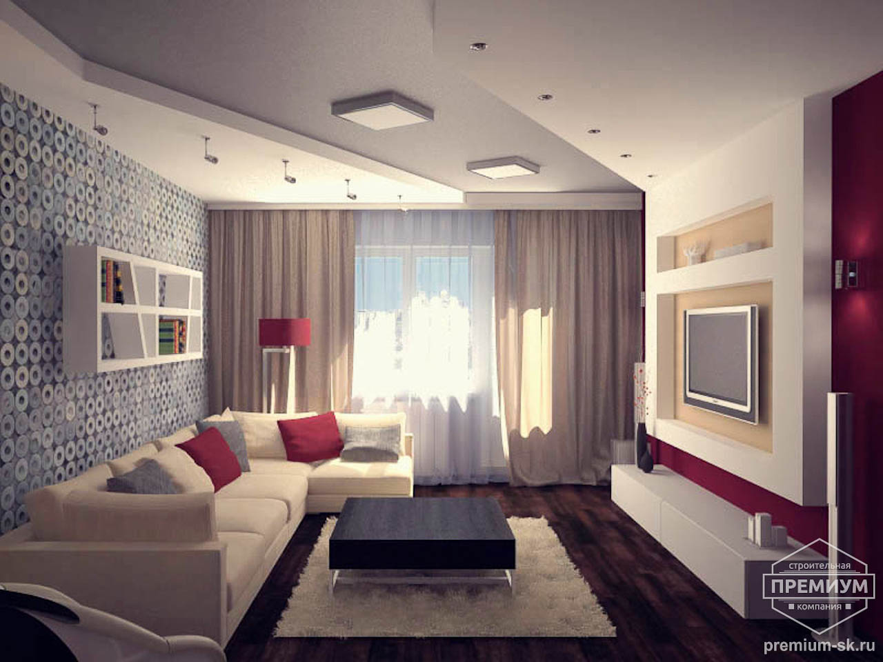 Дизайн интерьера однокомнатной квартиры по ул. Сыромолотова 11 img1660478240