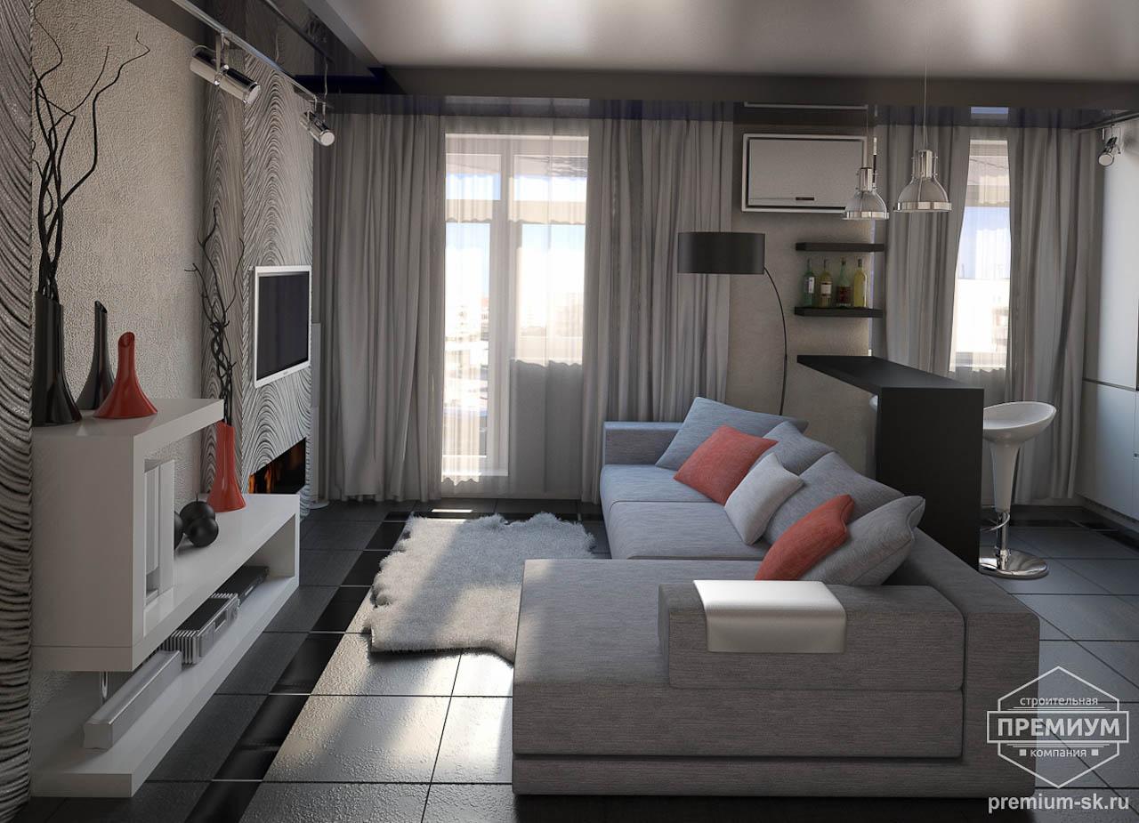 Дизайн интерьера однокомнатной квартиры по ул. Крауля 56 img1015897248
