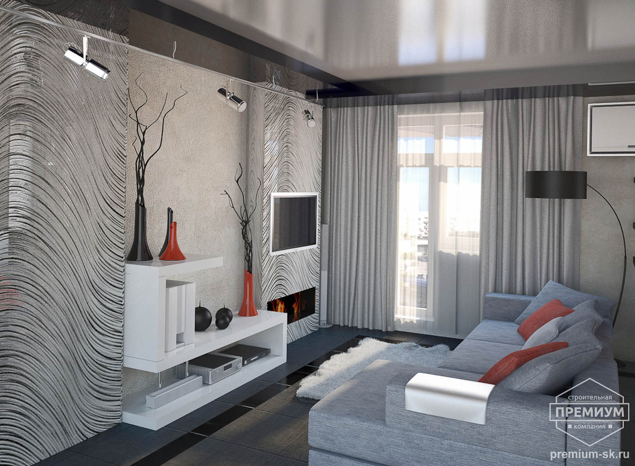 Дизайн интерьера однокомнатной квартиры по ул. Крауля 56 img110957207