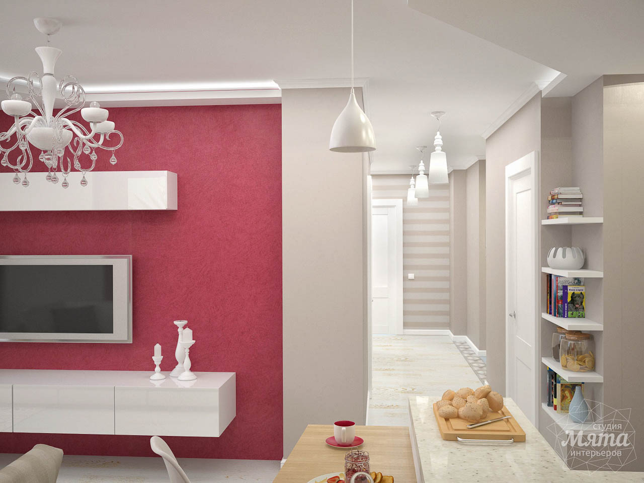 Дизайн интерьера и ремонт трехкомнатной квартиры по ул. Фучика 9 img90423346