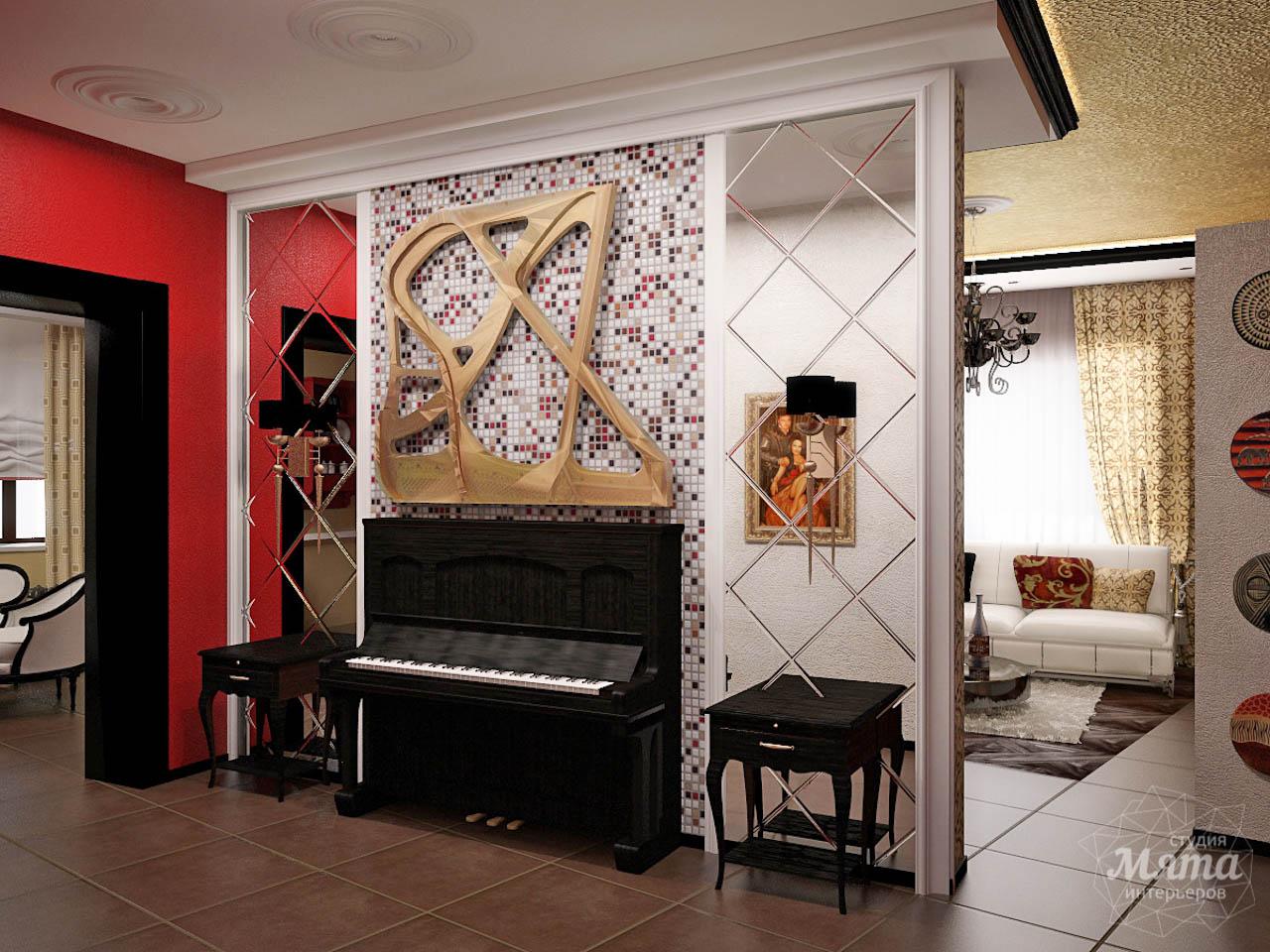 Дизайн интерьера коттеджа первого этажа по ул. Урожайная 17 img1140426117