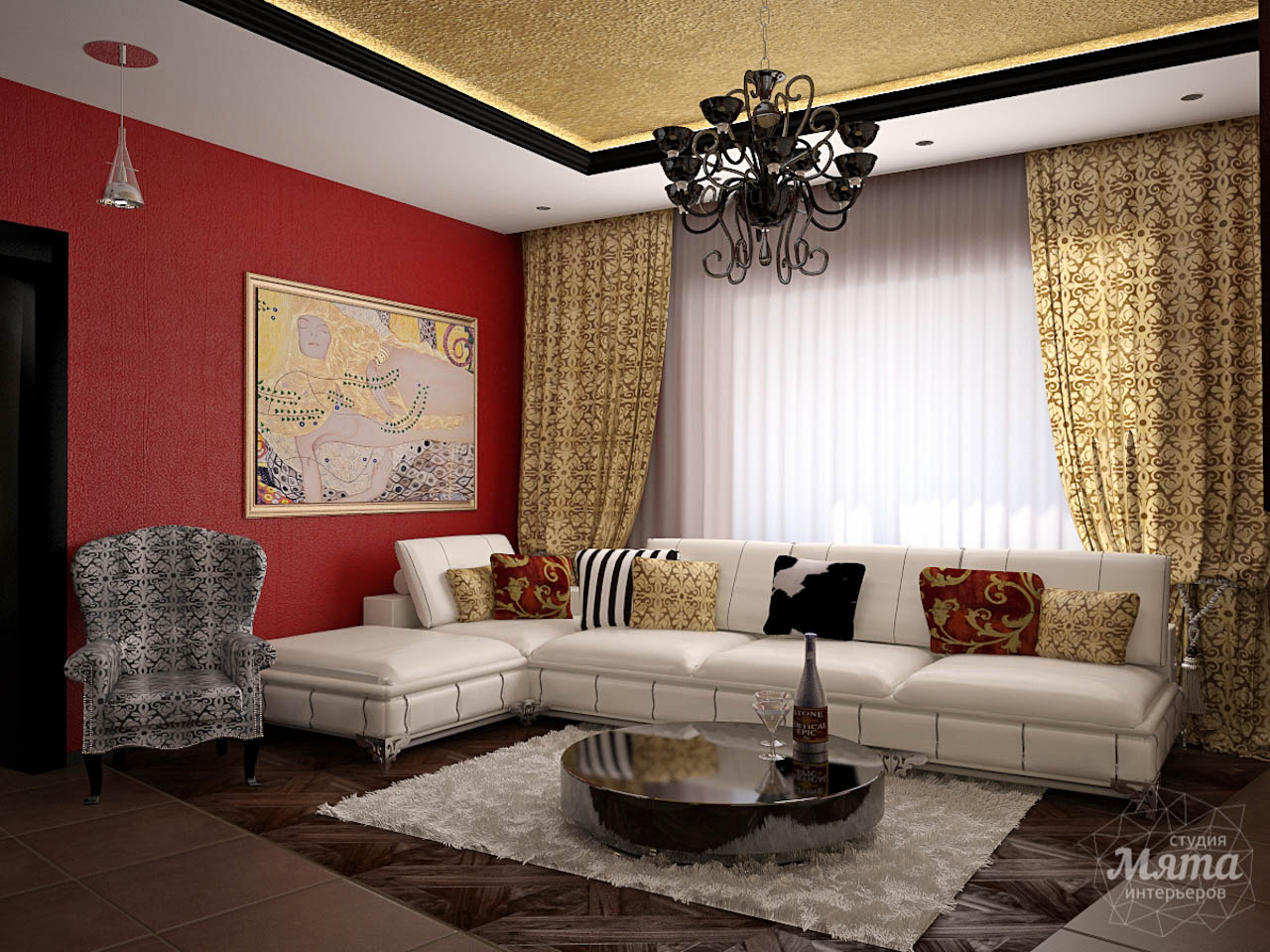 Дизайн интерьера коттеджа первого этажа по ул. Урожайная 17 img1018960102