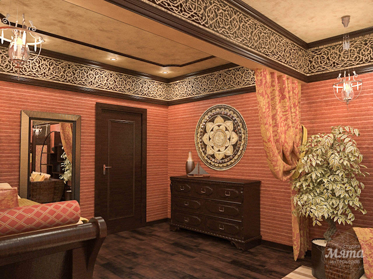 Дизайн интерьера коттеджа по ул. Урожайная 59 img645025121