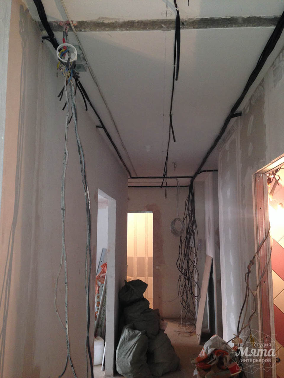 Дизайн интерьера и ремонт трехкомнатной квартиры по ул. Фучика 9 2