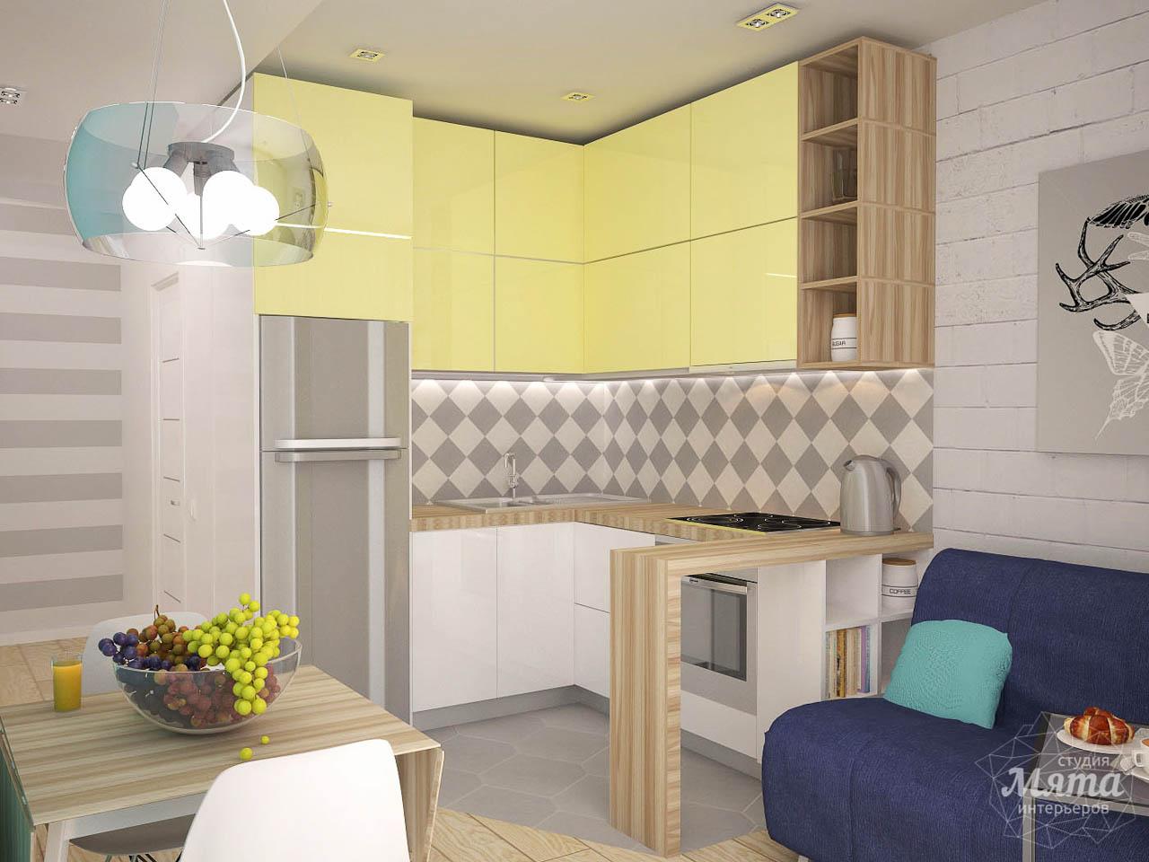 Дизайн интерьера и ремонт однокомнатной квартиры по ул. Сурикова 53а img427310581