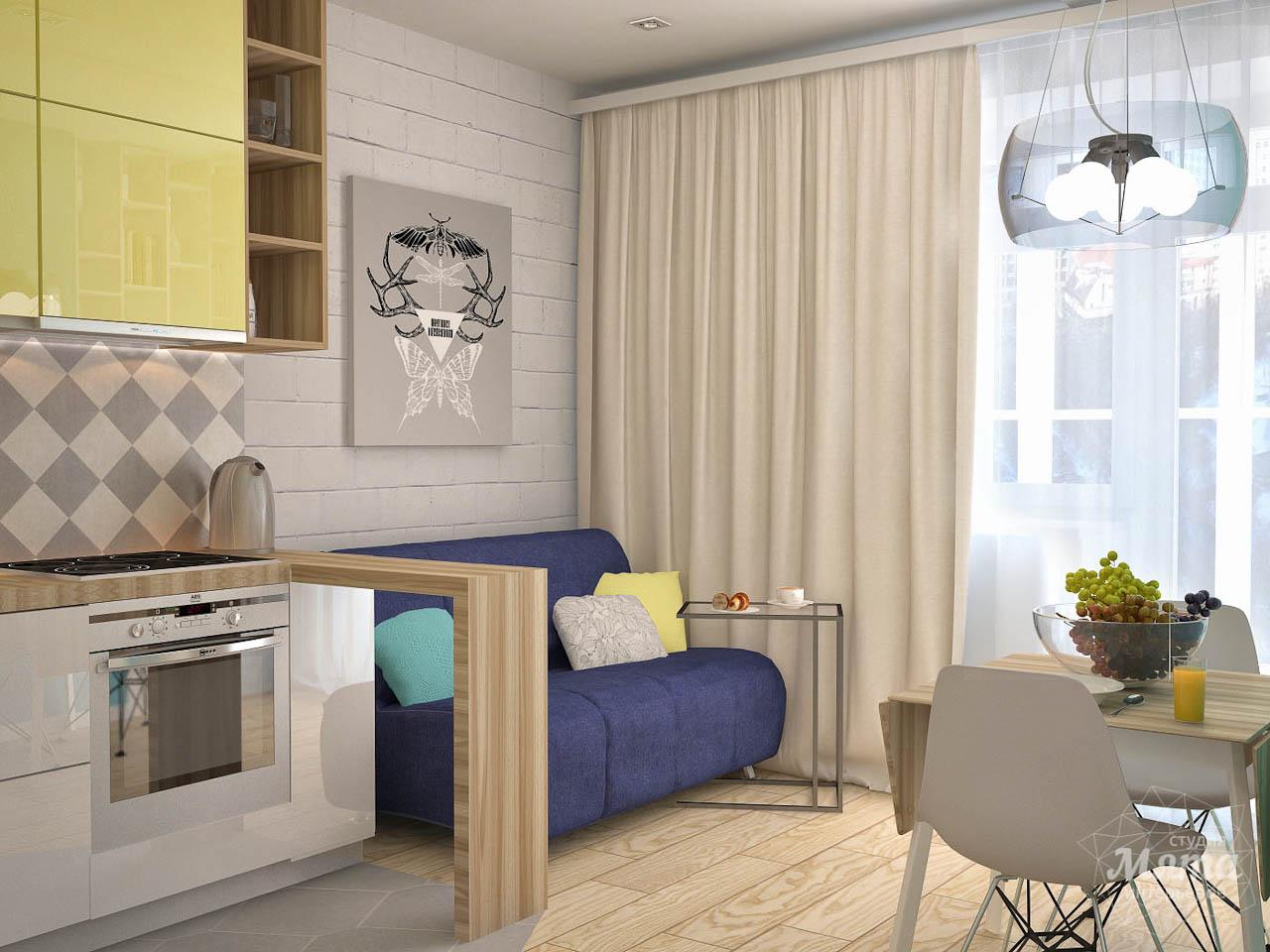 Дизайн интерьера и ремонт однокомнатной квартиры по ул. Сурикова 53а img537051157