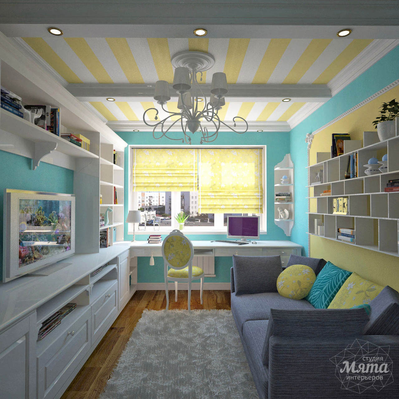 Дизайн интерьера двухкомнатной квартиры по ул. Комсомольская 14 img20559229