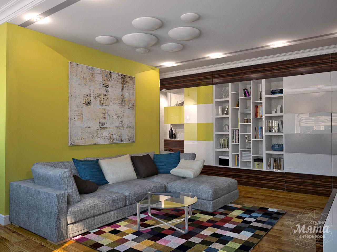 Дизайн интерьера двухкомнатной квартиры по ул. Комсомольская 14 img818959717