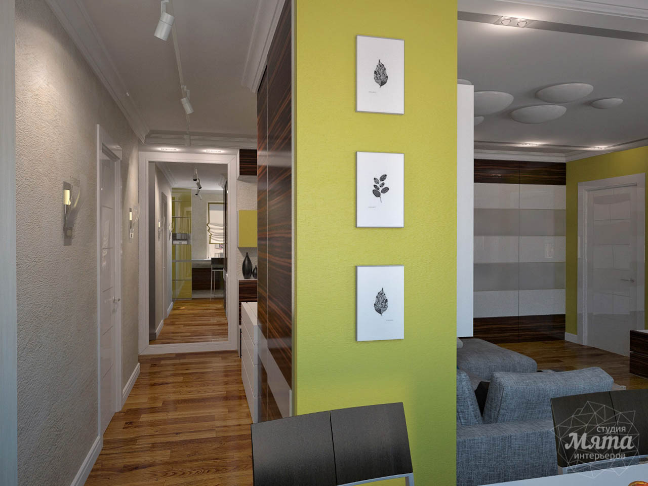Дизайн интерьера двухкомнатной квартиры по ул. Комсомольская 14 img191546566