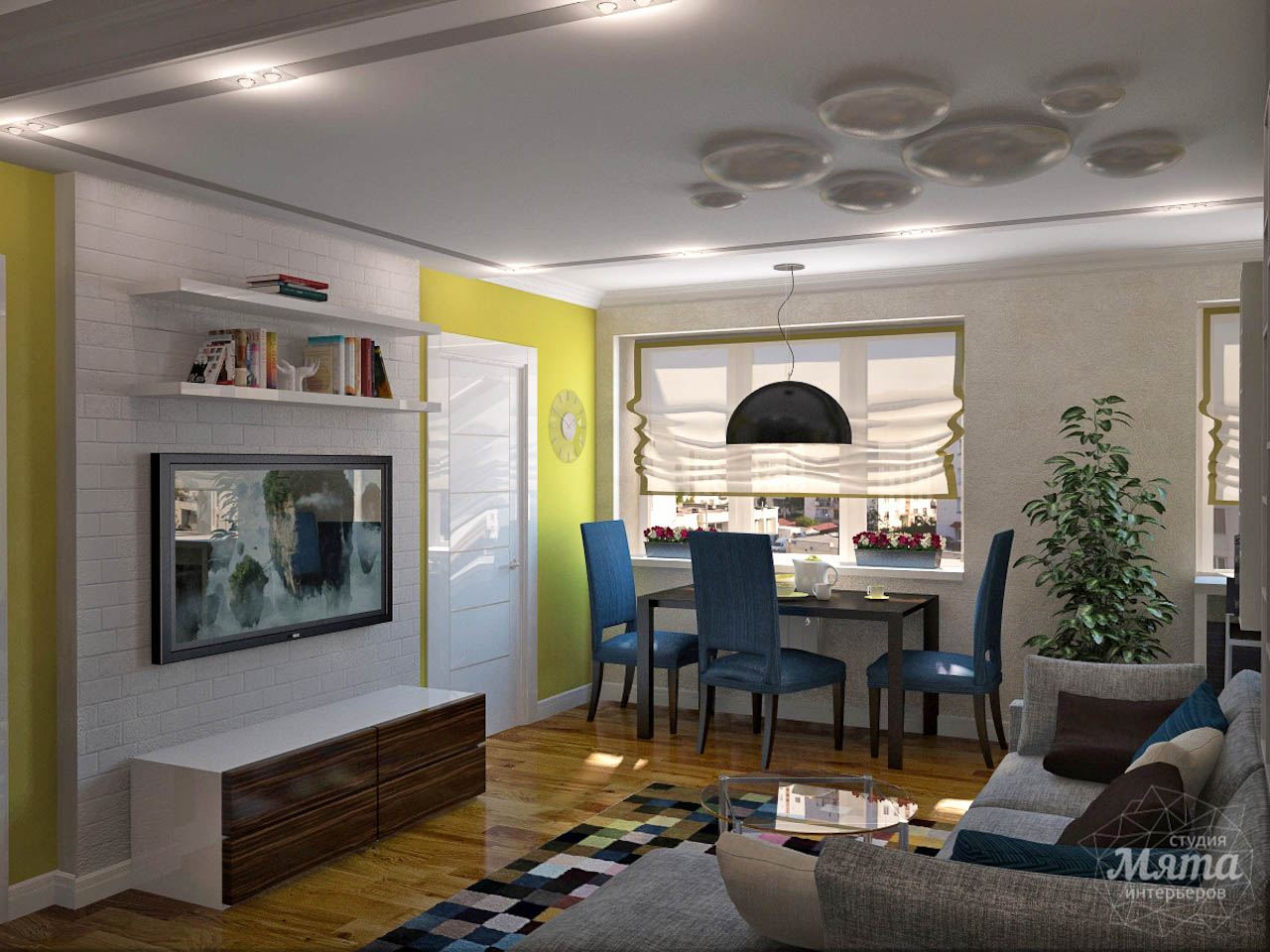 Дизайн интерьера двухкомнатной квартиры по ул. Комсомольская 14 img864830114