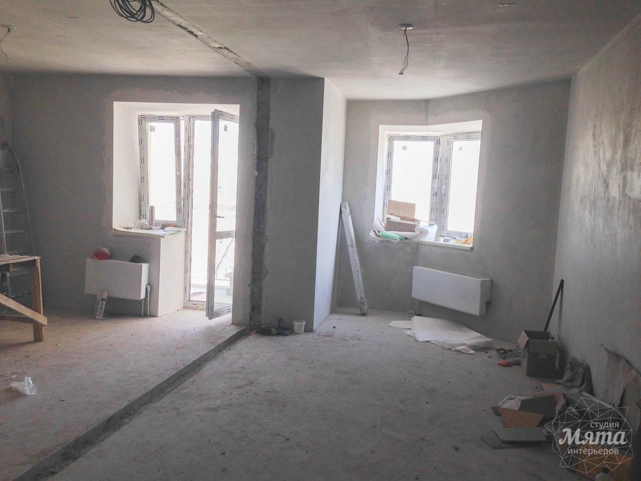 Дизайн интерьера и ремонт однокомнатной квартиры по ул. Сурикова 53а 27