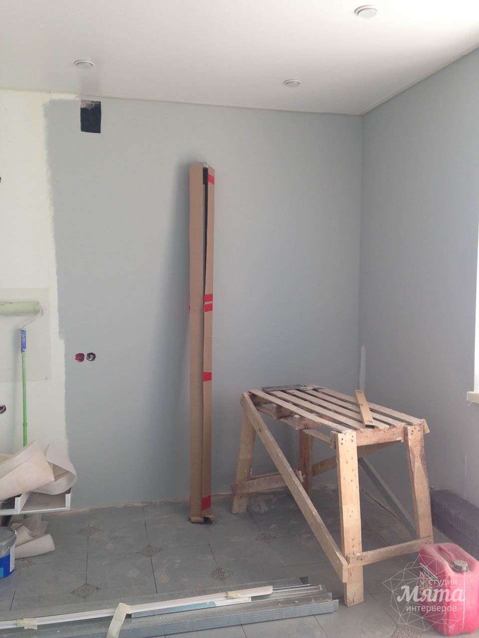Дизайн интерьера и ремонт однокомнатной квартиры по ул. Сурикова 53а 44