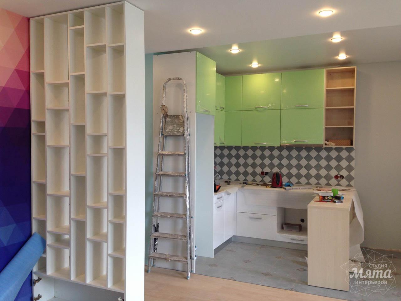 Дизайн интерьера и ремонт однокомнатной квартиры по ул. Сурикова 53а 63