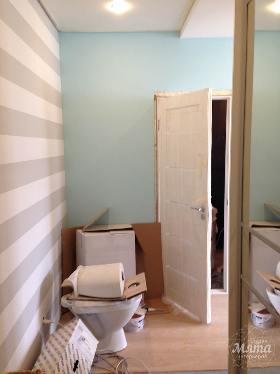 Дизайн интерьера и ремонт однокомнатной квартиры по ул. Сурикова 53а 66