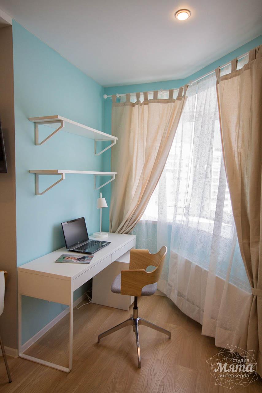 Дизайн интерьера и ремонт однокомнатной квартиры по ул. Сурикова 53а 6