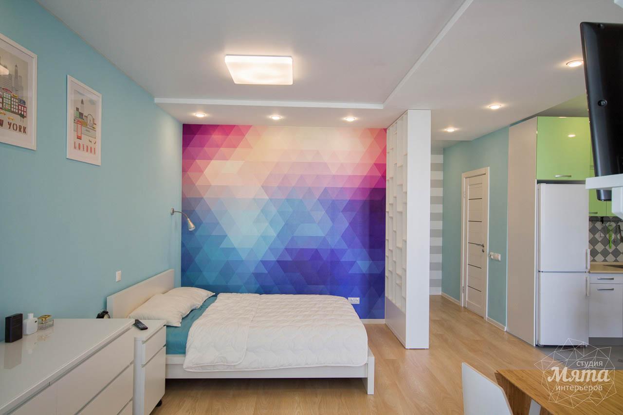 Дизайн интерьера и ремонт однокомнатной квартиры по ул. Сурикова 53а 7