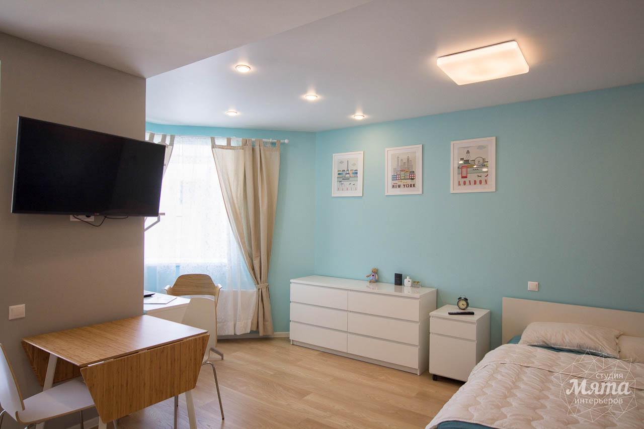 Дизайн интерьера и ремонт однокомнатной квартиры по ул. Сурикова 53а 13