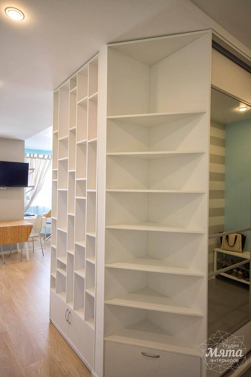 Дизайн интерьера и ремонт однокомнатной квартиры по ул. Сурикова 53а 16