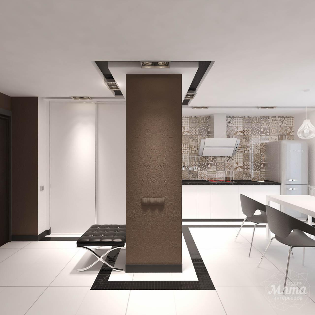 Дизайн интерьера однокомнатной квартиры по ул. Гагарина 27 img416394946
