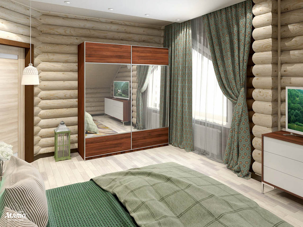 Дизайн интерьера коттеджа в п. В. Сысерть  img707379723