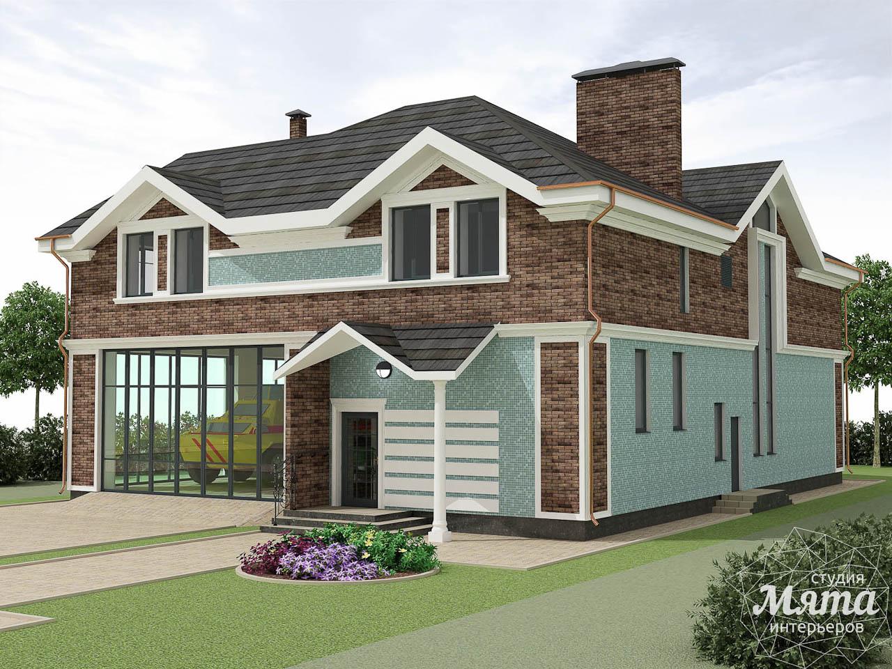 Дизайн фасада коттеджа в п. Палникс img1294175292