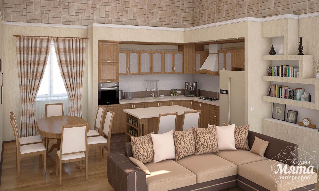 Дизайн интерьера коттеджа в современном стиле в п. Образцово  img989150181