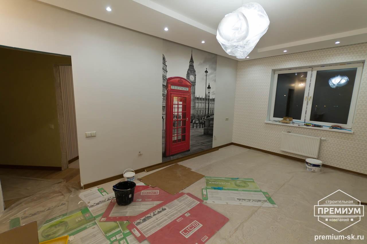 Дизайн интерьера и ремонт трехкомнатной квартиры по ул. Авиационная, 16  60