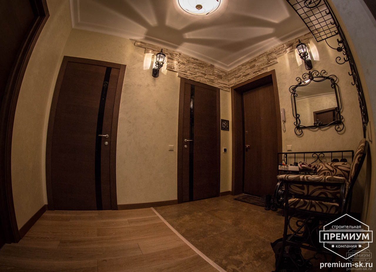 Дизайн интерьера и ремонт трехкомнатной квартиры по ул. Авиационная, 16  6