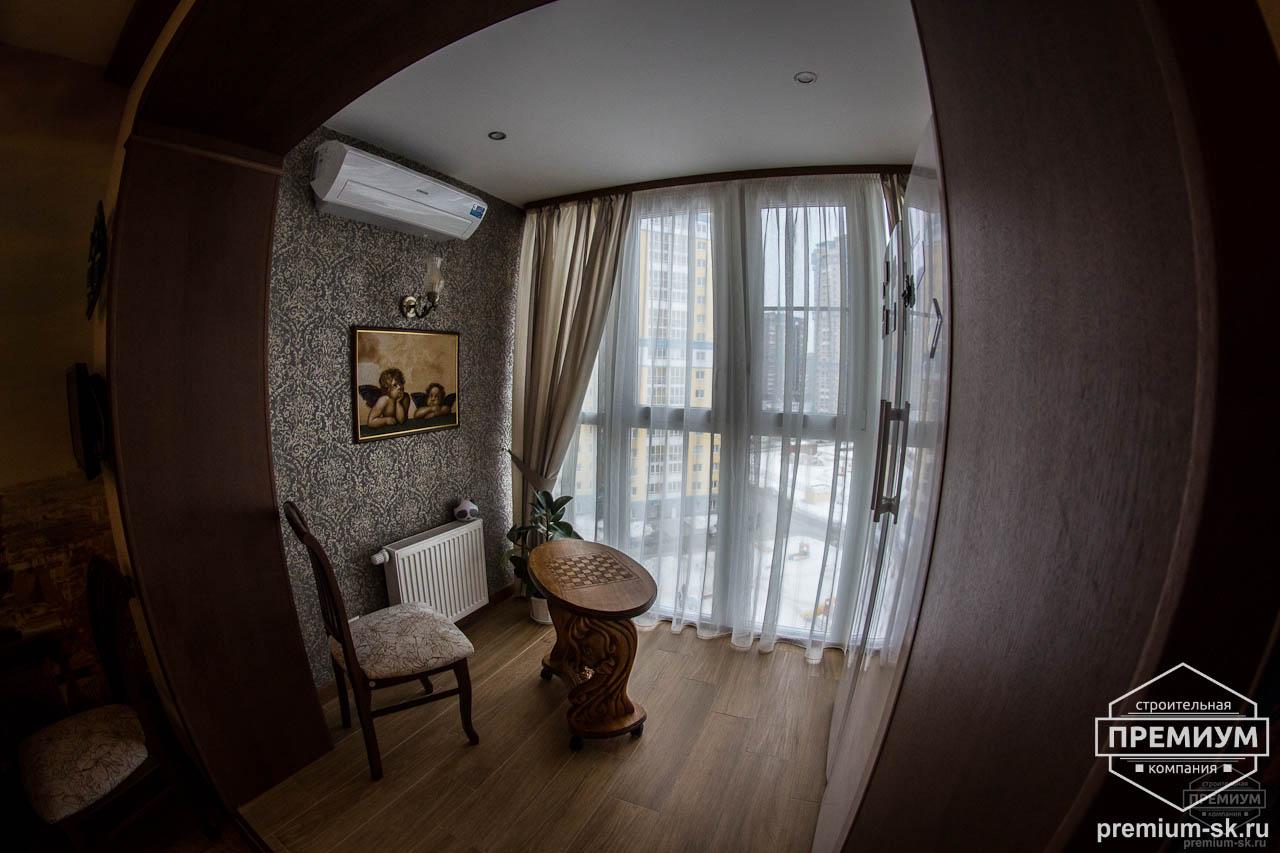 Дизайн интерьера и ремонт трехкомнатной квартиры по ул. Авиационная, 16  8
