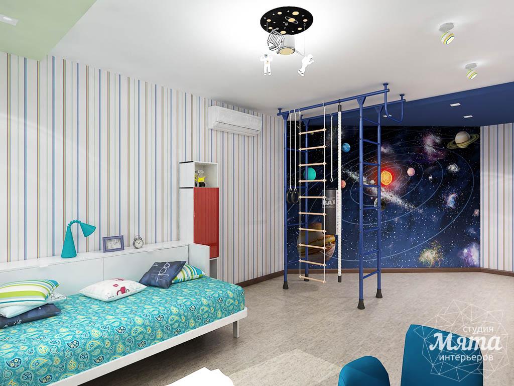 Дизайн интерьера и ремонт трехкомнатной квартиры по ул. Авиационная, 16  img1884126620