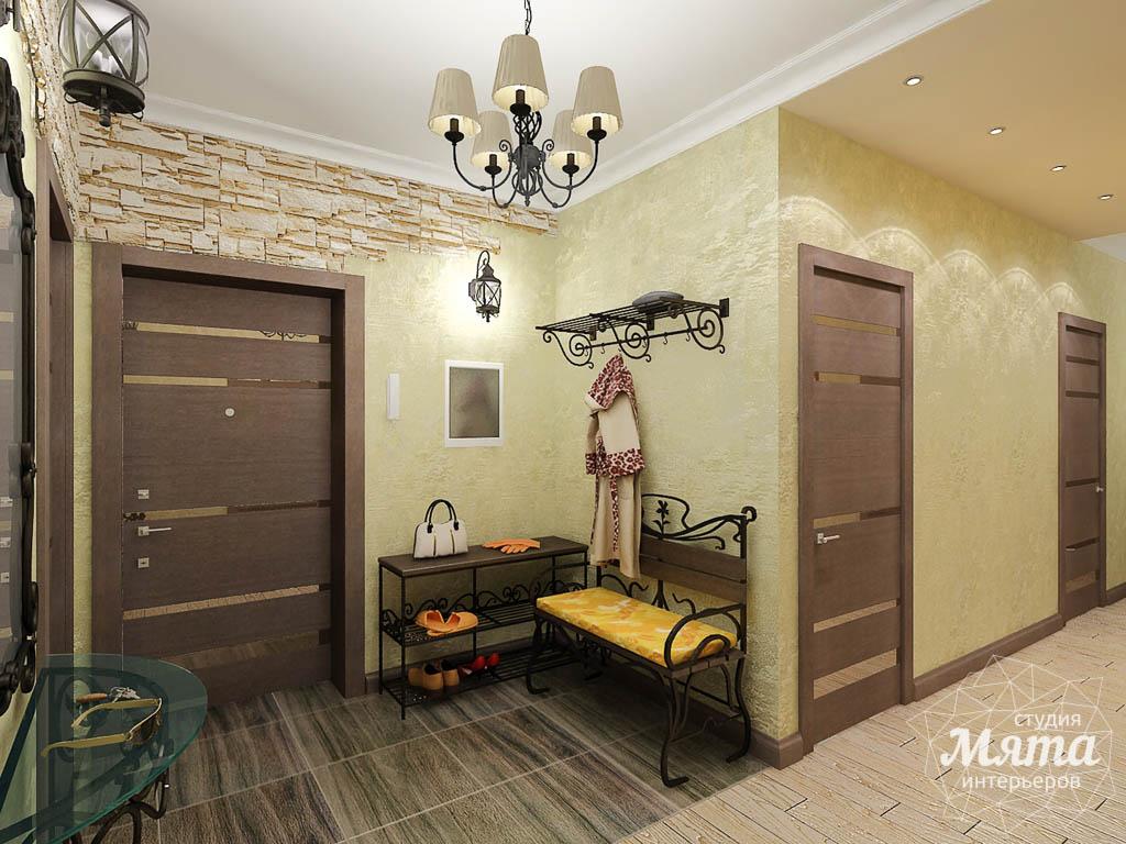 Дизайн интерьера и ремонт трехкомнатной квартиры по ул. Авиационная, 16  img1344886326