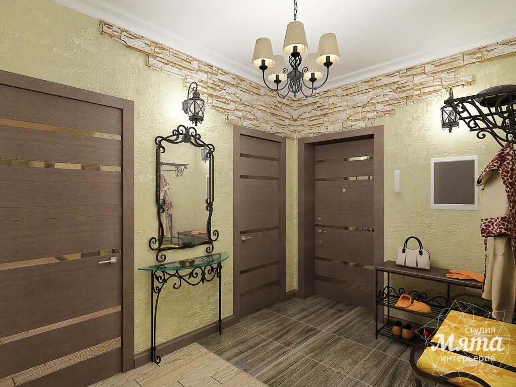 Дизайн интерьера и ремонт трехкомнатной квартиры по ул. Авиационная, 16  img2120264224