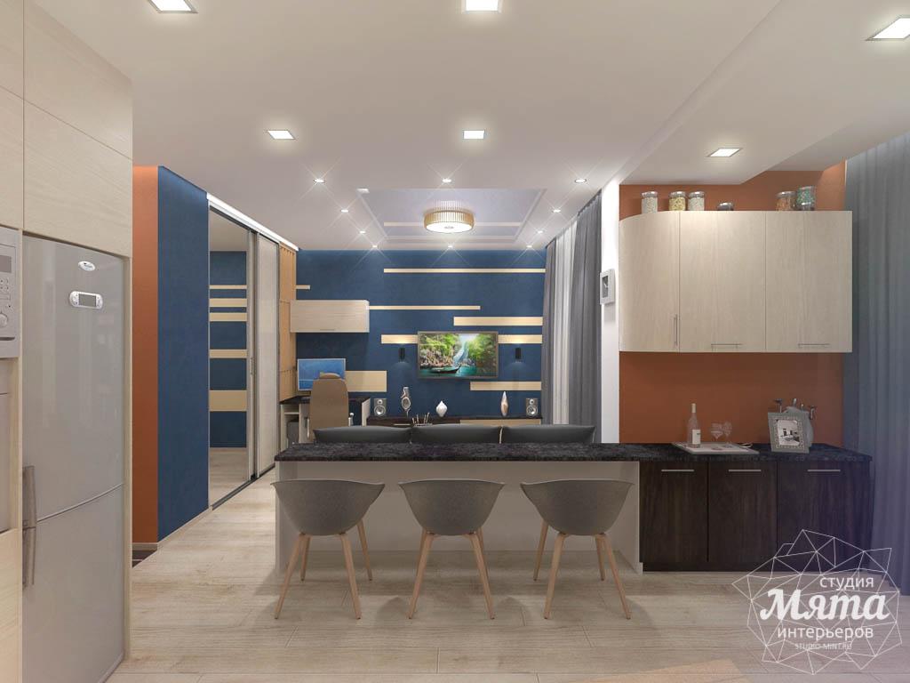 Дизайн интерьера однокомнатной квартиры в ЖК Крылов img86013662