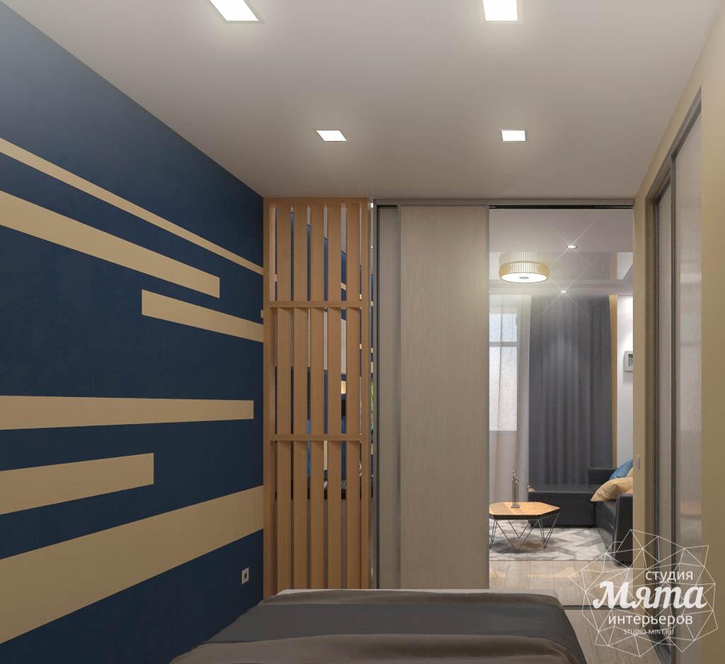 Дизайн интерьера однокомнатной квартиры в ЖК Крылов img374927983