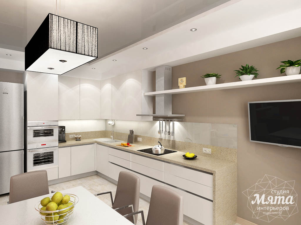 Дизайн интерьера трехкомнатной квартиры по ул. Куйбышева 21 img586787174