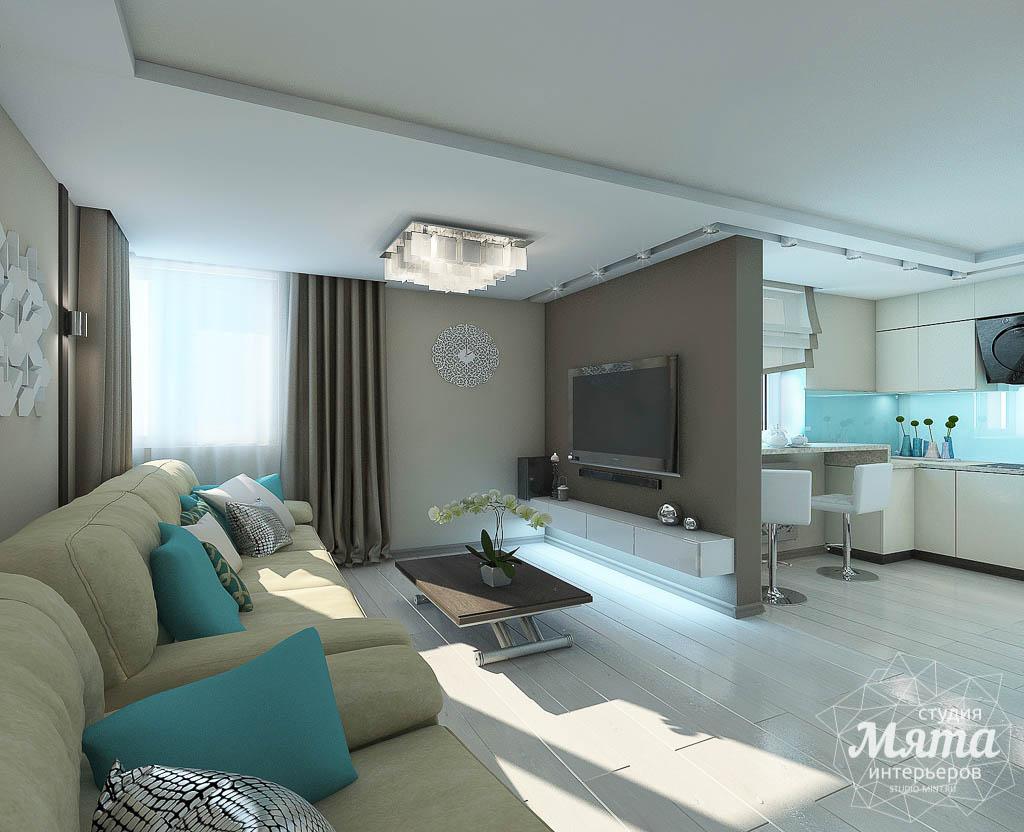 Дизайн интерьера двухкомнатной квартиры в Верхней Пышме по Успенскому проспекту 113Б img2074430490