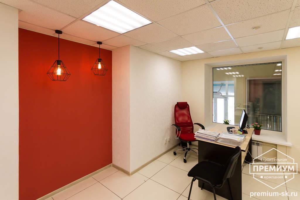 Дизайн интерьера и ремонт офиса по ул. Шаумяна 93 40