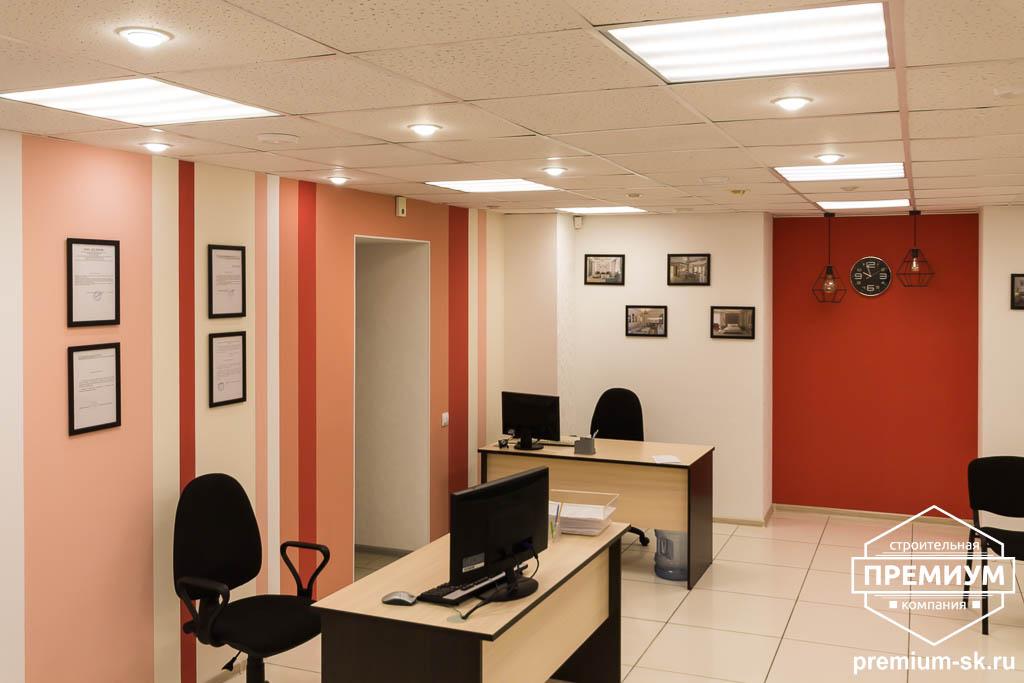 Дизайн интерьера и ремонт офиса по ул. Шаумяна 93 8