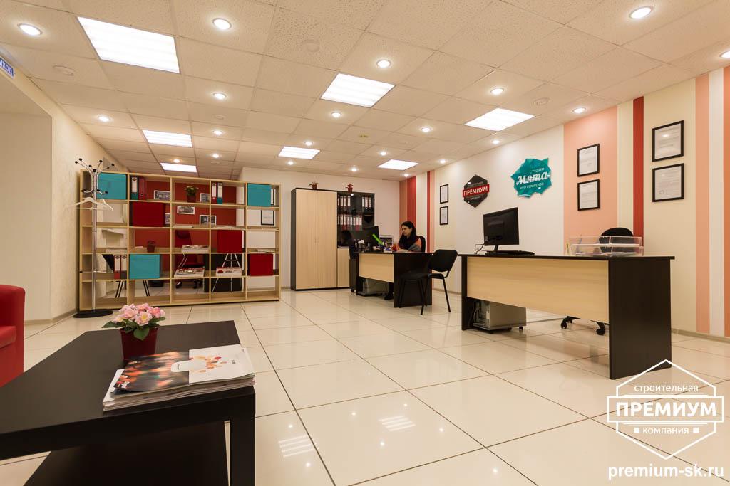 Дизайн интерьера и ремонт офиса по ул. Шаумяна 93 10