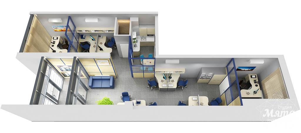 Дизайн интерьера офиса по ул. Чкалова 231 img1659761