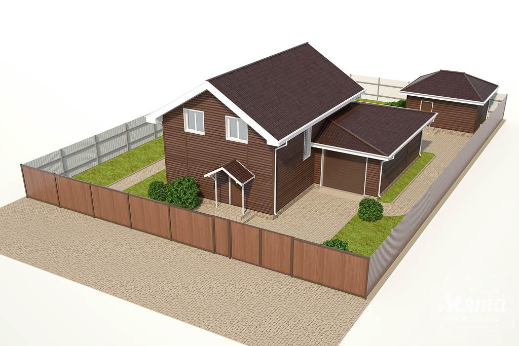 Дизайн фасада коттеджа в КП Алые Паруса img629668007