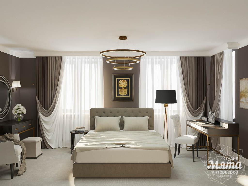 Дизайн интерьера спальни в ЖК Малевич img1960634334