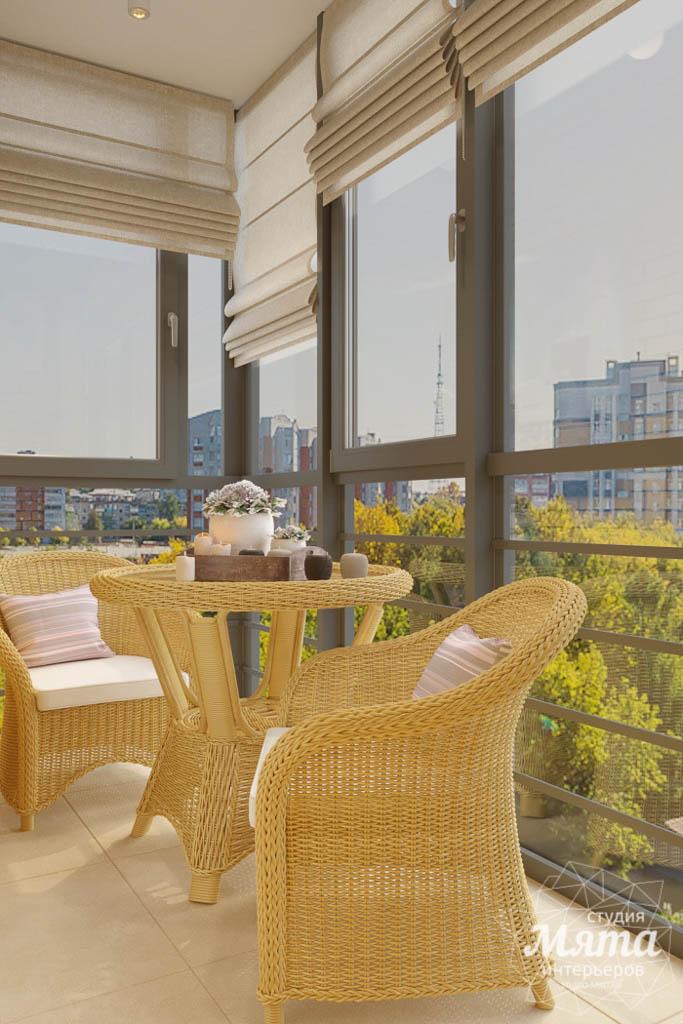 Дизайн интерьера однокомнатной квартиры ЖК Солнечный Остров img365307394