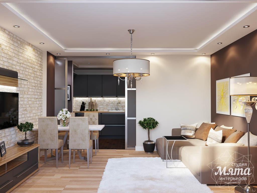 Дизайн интерьера трехкомнатной квартиры по ул. Фурманова 103 img883097809