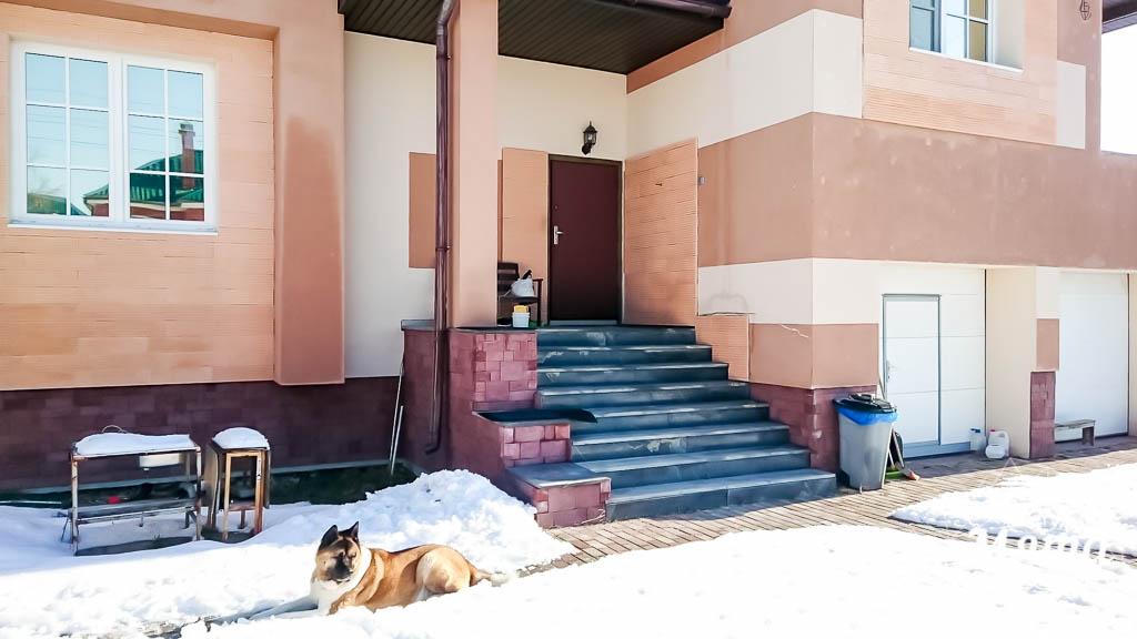 Дизайн проект фасада дома 215 м2 в п. Санаторный 1