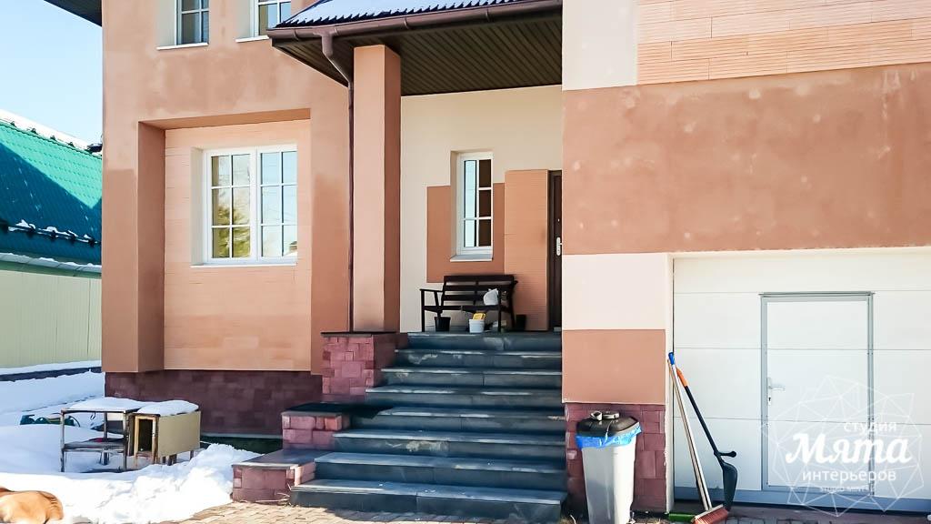Дизайн проект фасада дома 215 м2 в п. Санаторный 9