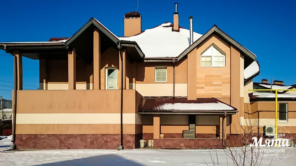 Дизайн проект фасада дома 215 м2 в п. Санаторный 14